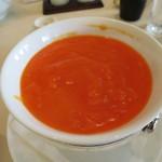 45366968 - 蟹の卵とタラバ蟹肉入りふかひれスープ