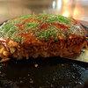 お好み焼 田舎っぺ - 料理写真:お好み焼き・広島風(ぶた・そば入り)(650円)