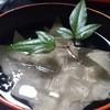 蕎麦彩膳 隆仙坊 - 料理写真:蕎麦刺しはここでしか食べられない逸品です!