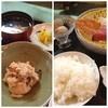 檜 - 料理写真:刺身定食、おからと小芋もウマー!