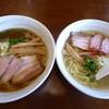 麺処 あんかつ - 料理写真:<'15/12/10>醤油と塩