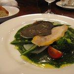 ブラッスリー イール - 1200円のランチコース(魚)です。野菜が多めで嬉しいです。