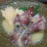 華音 - ホタルイカの酢味噌和え