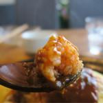 ファーマーズオリジン - ご飯はケチャップライス