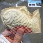 大塚や - 料理写真:・「冷やし鯛焼き小倉&生クリーム(\178)」