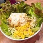ユトリ - 八百屋さんのサラダ(日替わりで この日はポテサラ)