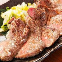 厚切り牛タンとこだわりの贅沢料理で歓迎会を!