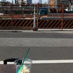 Public Bar SORA,Tokyo - スカイツリーファンの方が手作りした模型のスカイツリーが置いてありました。