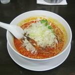 担々麺 杉山 - 「担々麺+白葱」です。