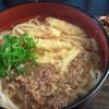 あずみ野 - 料理写真:肉ごぼううどん