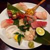 楽天酒家 - 料理写真:刺身 盛合せ ♪♪(b・ω・d)♪♪