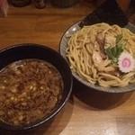 馳走麺 狸穴 - つけ麺(大)¥800