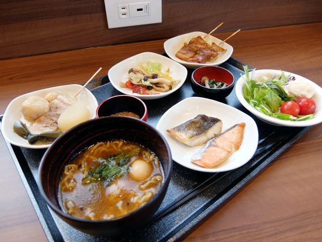 「天然温泉 幸鐘の湯 ドーミーイン東室蘭 朝食」の画像検索結果