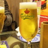 チャリアーノ - ドリンク写真:2015年12月 生ビール