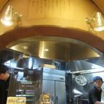 麺や高倉二条 - 厨房は二人で回しておられます
