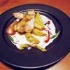 ピア サピド - 料理写真:白身魚のポワレ焼きりんご添え 1230円外税(''b