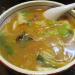 チャイナタウン - 冬限定らしいチャンポンつけ麺 味噌