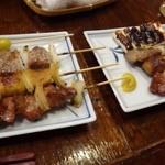 藤よし - ◆数種類の「焼き鶏」をオーダー。