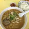 太郎 - 料理写真:ラーメン定食780円。スープは、味噌、醤油、塩があります(^^)