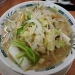 日高屋 - 野菜たっぷりタンメン500円