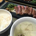 伊達の牛たん本舗 - 極厚芯たん定食(2,000円)★★★★★