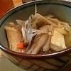 金太 - 料理写真:せんべい汁(お通し)