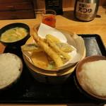 米福 - 天ぷら定食 990円(税込)