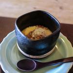 徳山鮓 - すっぽん蒸し 琵琶鱒の卵☆