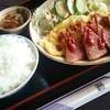 チャンプルー食堂 - 料理写真:ポーク・たまご定食600円です。