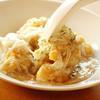 中華レストラン セドレ - 料理写真:「若鶏の唐揚げ 蟹肉あんかけ(ランチセット)」ふわっふわの食感とカニの香りが楽しい