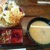和風レストラン やまさ - 料理写真:天丼(1296円)