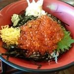 和風レストラン やまさ - イクラ丼(1296円) アップ