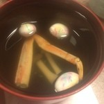 かに道楽 - 料理写真:お吸い物