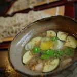 いし塚 - 料理写真:鴨汁そば