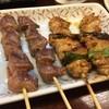やきとり 大吉 - 料理写真:砂肝¥100とネギま¥120