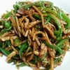 中華食堂 麟 - 料理写真:チンジャオロースセット+水餃子680円