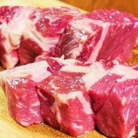 【約50日間の時間をかけた熟成牛ステーキ】