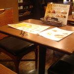 フーズフーズ - テーブル