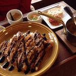 45540702 - 山形 米澤豚のカツカレー 1380円 ご飯小盛り