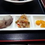 福香園 - 小皿料理 (2015年12月)