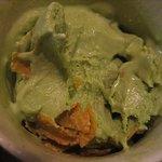 つきじ植むら - ソフトクリーム 抹茶