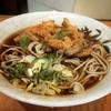 神楽坂そば - 料理写真:やさい天ぷらそば