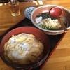 さぬき - 料理写真:玉子丼セット