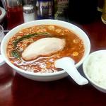 我流担々麺 竹子 - 辛い担々麺(750円)