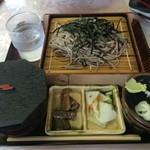 氷川サービスステーション - 料理写真:川苔セット(冷)900円也