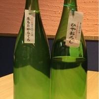 ラベルのない日本酒