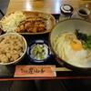 うどん屋 山善 - 料理写真:日替わりセット830円(税込) ※2015年12月