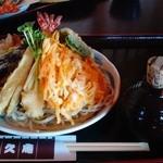 45588622 - 鬼おろし天ぷらのぶっかけ蕎麦