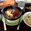 洋食の太陽 - 料理写真:煮込みハンバーグ定食1250円