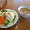 フォルクス - 料理写真:牛サガリカットステーキワンダフルランチセット